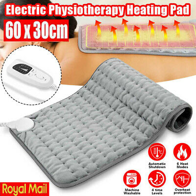 £18.98 • Buy THERAPEUTIC ELECTRIC HEAT PAD SOOTHING MUSCLE TENSION BACK NECK PAIN RELIEF 60cm