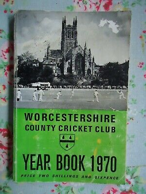 £3.50 • Buy 1970 Worcestershire County Cricket Club Year Book