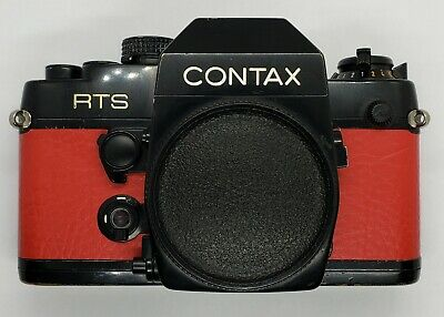 $ CDN19.49 • Buy Replacement Red Leatherette Skin Cover Grip For Contax RTS II Quartz Camera