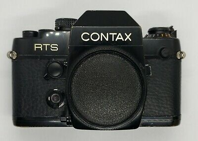 $ CDN19.49 • Buy Replacement Black Leatherette Skin Cover Grip For Contax RTS II Quartz Camera
