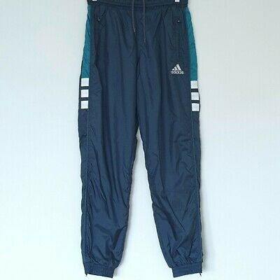 AU55 • Buy Vintage 90's Adidas Track Pants With Zipper Ankles - Size Small/Medium