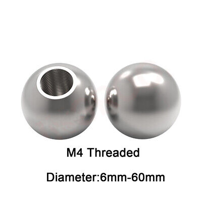 AU3.31 • Buy 6mm 7mm 8mm 9mm 10mm-60mmStainless Steel Ball With M4 Threaded Bearings Rod End