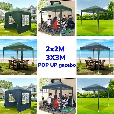 £64.59 • Buy 2MX2M 3MX3M Pop Up Gazebo Waterproof Marquee Garden Awning Party Tent Canopy UK