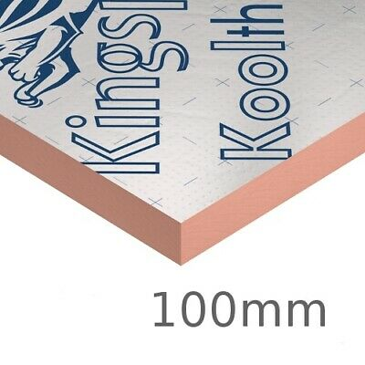 £235 • Buy Kingspan Kooltherm K107 Pitched Roof Insulation Board 100mm - 8.64m2 Pack