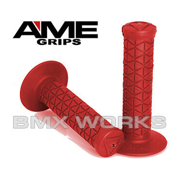AU22 • Buy AME Tri  - BMX Grips - Pairs - Red