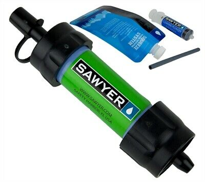 AU24.91 • Buy Sawyer Mini Water Filter Filtration System Green