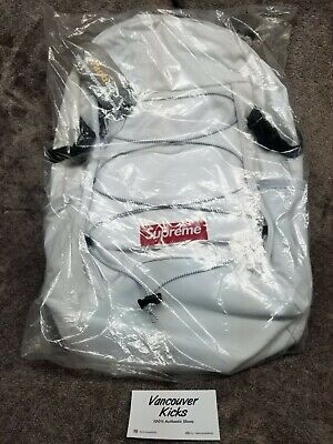 $ CDN450 • Buy Supreme FW17 White 3M Reflective Backpack. Authentic. From Supreme New York