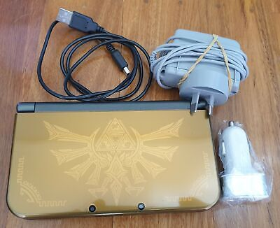 AU347.99 • Buy New Nintendo 3DS XL Limited Hyrule Edition With Travel Charger Pack & Warranty