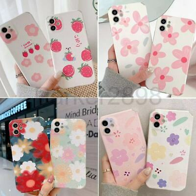 AU5.99 • Buy Case For IPhone 12 11 Pro XR XS MAX 8 7 6 Plus Mini TPU Floral Shockproof Cover