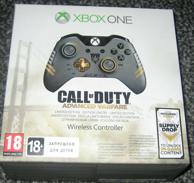 £99 • Buy Xbox One Limited Edition Call Of Duty: Advanced Warfare Wireless Controller