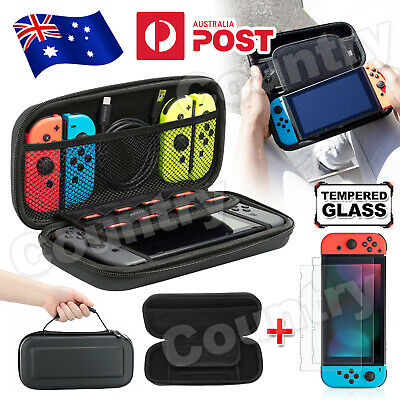 AU13.95 • Buy For Nintendo Switch Carrying Case Bag Screen Protector Cover Accessories NEW