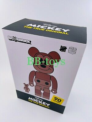 $595 • Buy Medicom Bearbrick Disney X Undefeated Mickey Mouse NYC Ver. 100% 400% Unopened