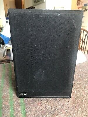 Rare Magnetically Shielded JPW Mini Monitor Center Speaker. Made In Plymouth. • 35£
