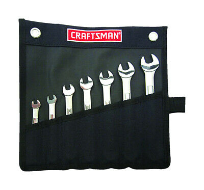 $ CDN24.25 • Buy Craftsman 7pc Wrench Set In Pouch Metric Sizes: 6, 8, 9, 10, 11, 12 & 13mm 21086
