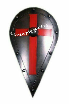 £68 • Buy Heater Shield Armor Medieval Combat Ready For Battle Armor Shield