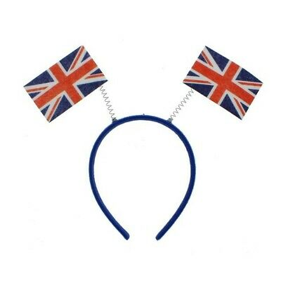 £2.95 • Buy  Union Jack British England Flag Head Boppers National Street Party Fancy Dress