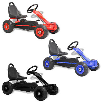 £97.99 • Buy VidaXL Pedal Go-Kart With Pneumatic Tyres Push Play Vehicle Multi Colours