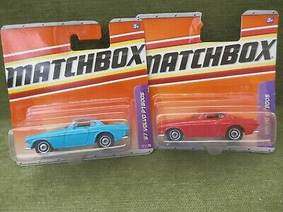 Matchbox X2 Volvo P1800s , Mint On Sealed Cards • 7.99£
