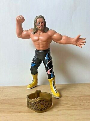 $ CDN174.96 • Buy Wwf Wcw Galoob Freebirds Michael Ps Hayes & Belt Uk Exclusive Wrestling Figure