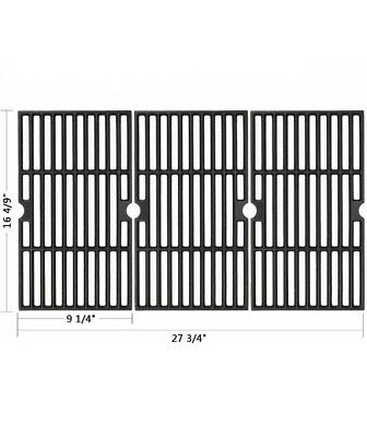 $ CDN60.45 • Buy 3pc Cast Iron Grate Cooking Grid Replacement Parts For Gas Grills Weber