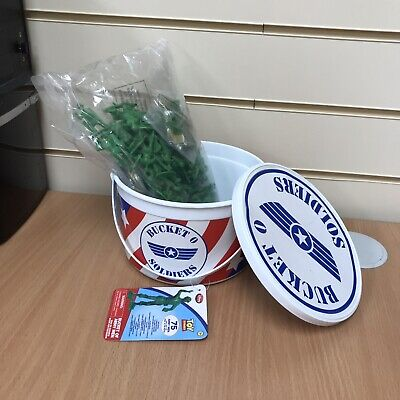 £20 • Buy Disney Toy Story  Army Men Bucket Of Soldiers Includes 1 Injured 3 Paratroopers