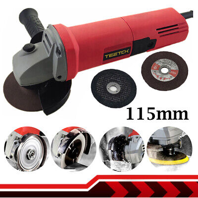 £26.30 • Buy Angle Grinder 125mm 5inch 850W 11000rpm Electric Grinding Sander Polisher Corded