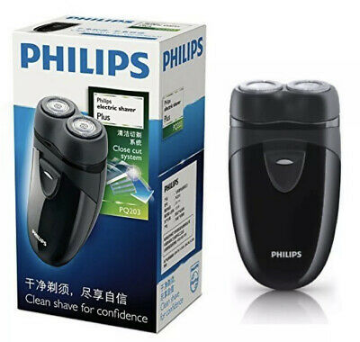 £19.49 • Buy PHILLIP Electric Travel Shaver Cordless Battery Powered Mens Self Sharpening NEW
