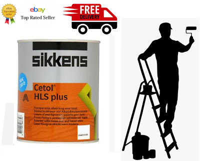 £23.80 • Buy SIKKENS CETOL HLS PLUS WOODSTAIN 1 OR 2.5 LITRE All Colours All Sizes