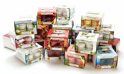 £7.99 • Buy Yankee Candle 12 Scented Tea Lights - Choose Your Own Fragrance Fast & Free Post