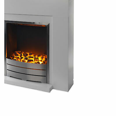 £75.59 • Buy Blyss Electric Fire Suite Beccles White With Surrounding 250x720x770 Mm