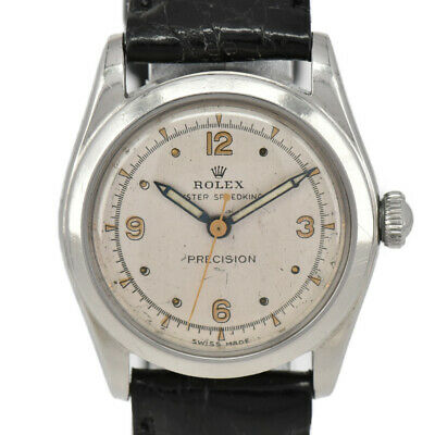 $ CDN1580.61 • Buy ROLEX Vintage Oyster Speed King 4220 Silver Dial Hand Winding Boys Watch I#98113