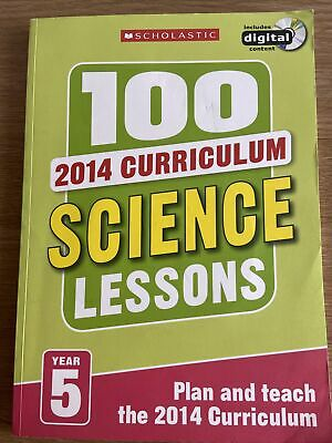 £15 • Buy Scholastic 100 Year 5 Science Lessons With CD