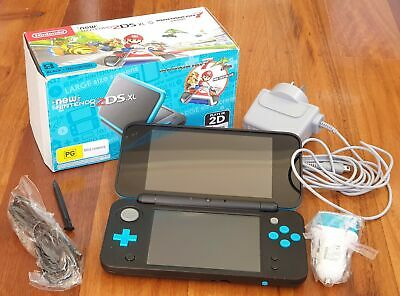 AU277.99 • Buy Limited Edition Mario Kart 7 New Nintendo 2DS XL In Box With Wall Charger+Extras