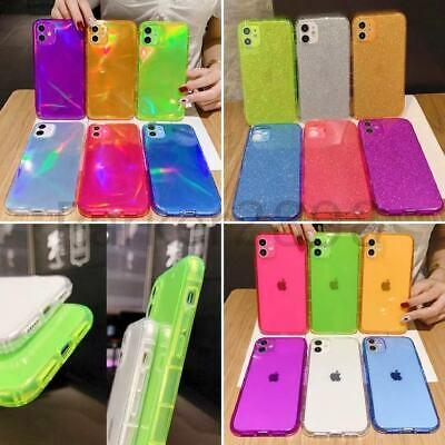 AU5.51 • Buy For IPhone 13 12 11 Pro XR XS Max 8 7 Laser Glitter Fluorescent TPU Case Cover