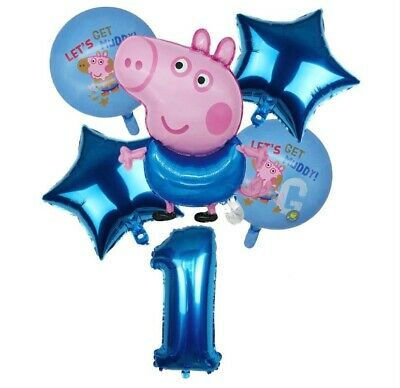 £9.99 • Buy Peppa Pig  George Foil Balloons Sets  Kids Birthday Party Decoration
