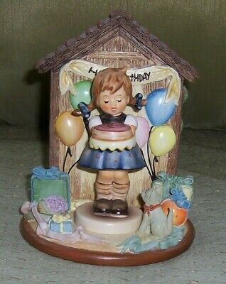 $72.50 • Buy M I Hummel Club Exclusive - Sweet As Can Be #541 W/ Happy Birthday Hummelscape