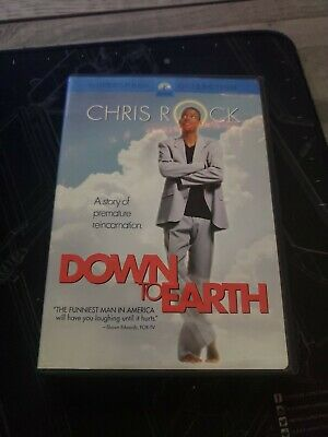 £1.76 • Buy Down To Earth (DVD, 2001, Widescreen Collection), Chris Rock