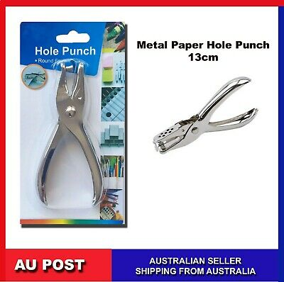 AU4.99 • Buy Paper Single Round Hole Punch Puncher School Office Stationery HolePunch 6mm