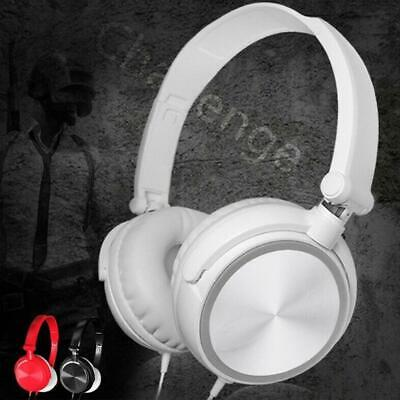$ CDN6.73 • Buy Wired Headphones Over Ears Headsets Bass Stereo Earphones With Microphones