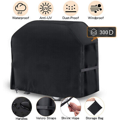 £12.59 • Buy Heavy Duty BBQ Cover Waterproof Anti UV Grill Protector Outdoor Patio Cover UK