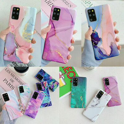 $ CDN6.88 • Buy Colorful Marble Soft Silicone Case Cover For Samsung S21Ultra S20 A21S S10 S9 S8