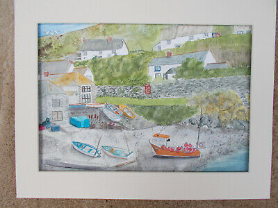 £20 • Buy Original Watercolour Of Cadgwith, Cornwall