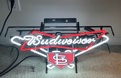 $ CDN755.97 • Buy St. Louis Cardinals Budweiser Neon Sign Light L@@K