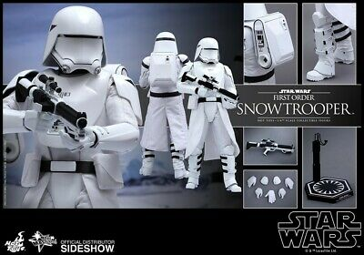 $ CDN257.68 • Buy Hot Toys Star Wars First Order Snowtrooper MMS321 Mint And New In The Box