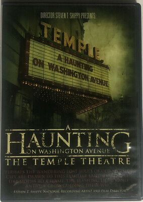 £11.32 • Buy A Haunting On Washington Avenue - The Temple Theatre (DVD)