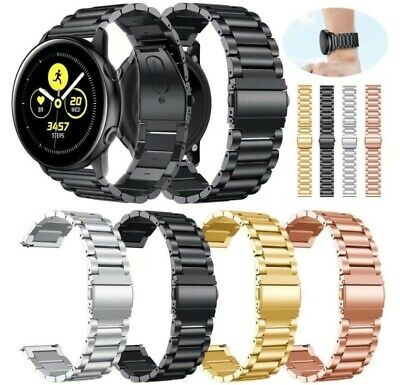 AU9.95 • Buy Stainless Steel Watch Band Strap For Samsung Galaxy Watch 46 42mm Active 2 40 44