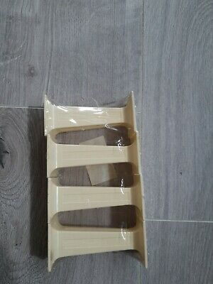"""£2 • Buy 4 X Ivory SQUARE PILLARS Columns Cake Support Decorate 3""""inch Long Sugarcraft"""