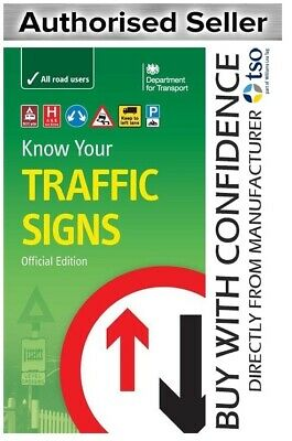 £6.99 • Buy Know Your TRAFFIC Signs Book Official Edition