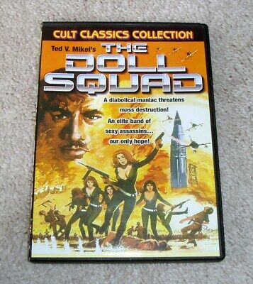 £10.89 • Buy The Doll Squad DVD Cult Exploitation Drive In Classic Ted V. Mikels