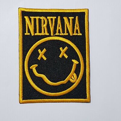 £1.85 • Buy Nirvana Rock Music Band Iron Or Sew On Embroidered Patch